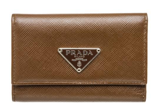 Preload https://img-static.tradesy.com/item/26229456/prada-brown-saffiano-leather-6-key-holder-wallet-0-0-540-540.jpg