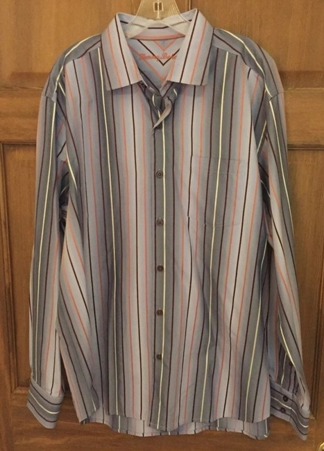 Tommy Bahama Button Down Shirt multi-color Image 1