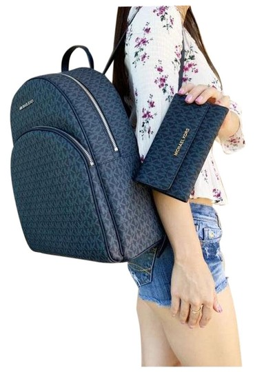 Preload https://img-static.tradesy.com/item/26229482/michael-kors-large-abbey-admiral-mk-trifold-wallet-blue-backpack-0-1-540-540.jpg