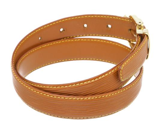 Louis Vuitton Louis Vuitton Brown Epi Leather Skinny Classique Belt 85 Image 4