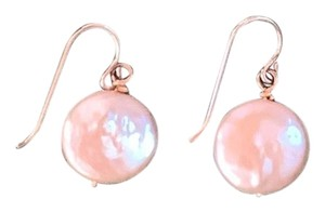 Independent Freshwater Coin Pearl Earrings