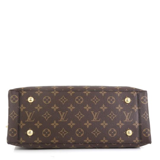 Louis Vuitton Flower Canvas Tote in Brown Image 3