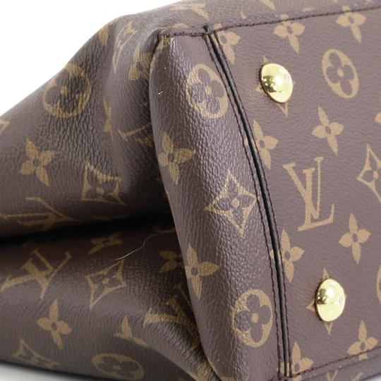 Louis Vuitton Flower Canvas Tote in Brown Image 5