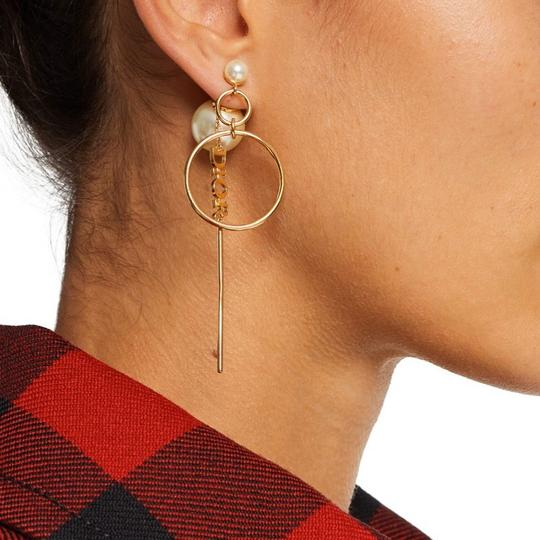 Dior Dior Tribales pearl gold tone earrings Image 1
