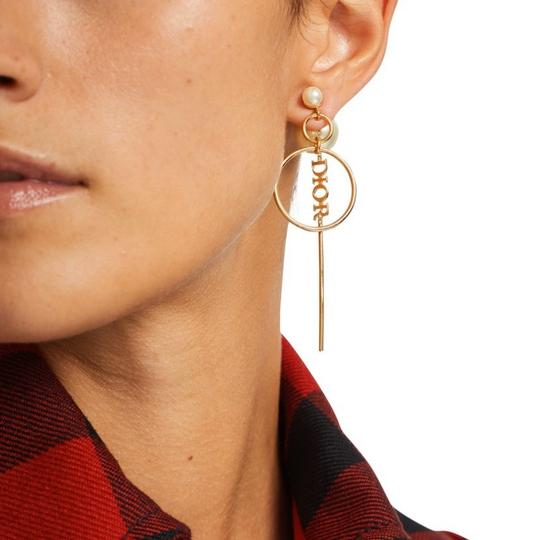 Dior Dior Tribales pearl gold tone earrings Image 2