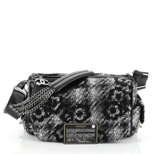 Chanel Camera Tweed Leather Shoulder Bag Image 1