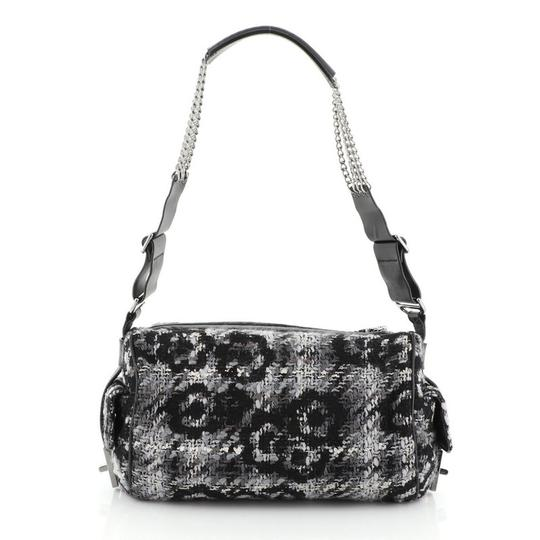 Chanel Camera Tweed Leather Shoulder Bag Image 3