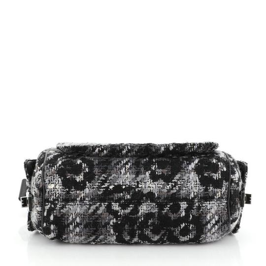 Chanel Camera Tweed Leather Shoulder Bag Image 4