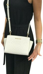 Michael Kors Mk Leather Signature Cross Body Bag
