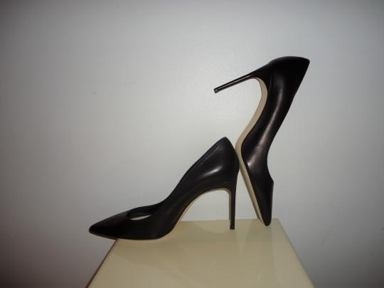Brian Atwood Atwood Leather Black Pumps Image 1