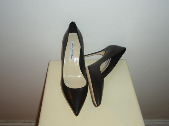 Brian Atwood Atwood Leather Black Pumps Image 2