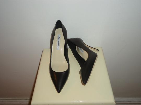 Brian Atwood Atwood Leather Black Pumps Image 3