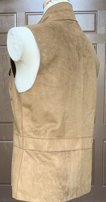 Lauren Ralph Lauren Faux Leather Polyester Fully Lined Vest Image 4
