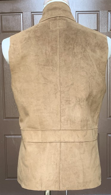 Lauren Ralph Lauren Faux Leather Polyester Fully Lined Vest Image 5