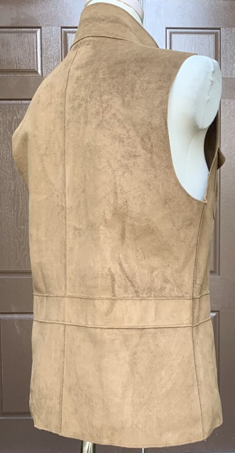 Lauren Ralph Lauren Faux Leather Polyester Fully Lined Vest Image 6