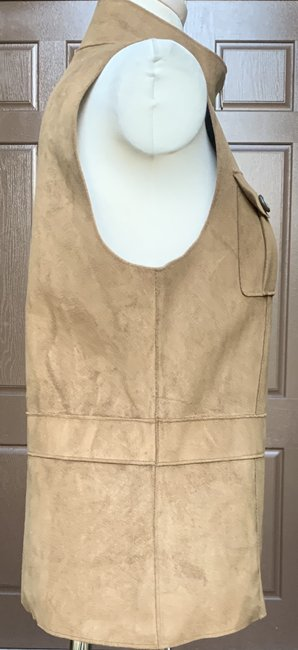 Lauren Ralph Lauren Faux Leather Polyester Fully Lined Vest Image 7