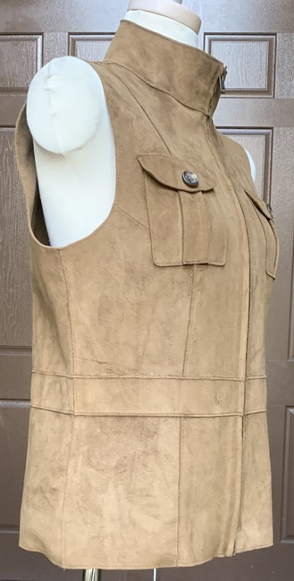 Lauren Ralph Lauren Faux Leather Polyester Fully Lined Vest Image 8