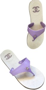 Chanel Limited Edition Lavender Sandals