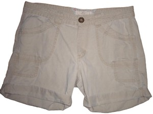 Levi's Pockets Cotton Cuffed Shorts Khaki