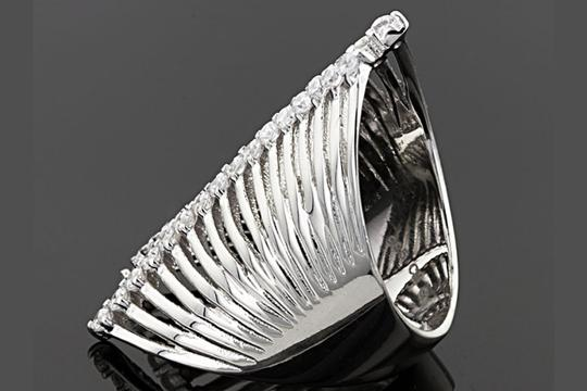 JTV Bella Luce  Sterling Ring Image 3