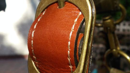 Patricia Nash Designs Hand Painted Tooled Leather Italian Leather Cross Body Bag Image 3