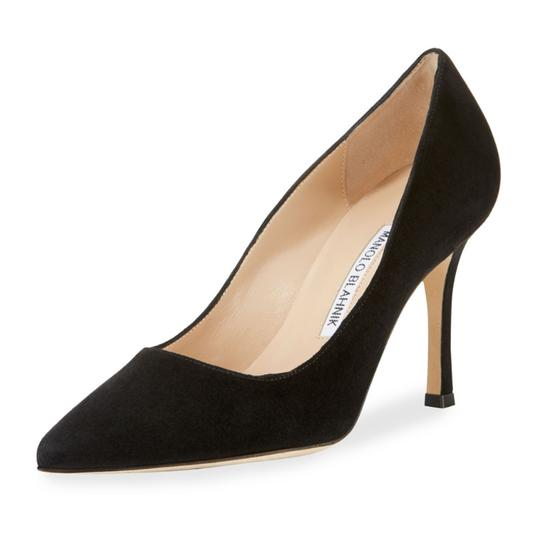 Manolo Blahnik Black Pumps Image 3