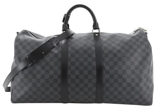 Louis Vuitton gray Travel Bag Image 0