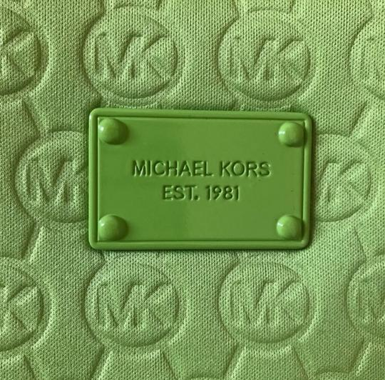 MICHAEL Michael Kors Tote in Lime Green Image 2