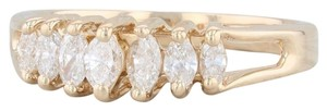 Other 0.38ctw Diamond Tiered Diamond Ring - 14k Yellow Gold Size 7 Stackable