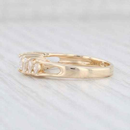 Other 0.38ctw Diamond Tiered Diamond Ring - 14k Yellow Gold Size 7 Stackable Image 2