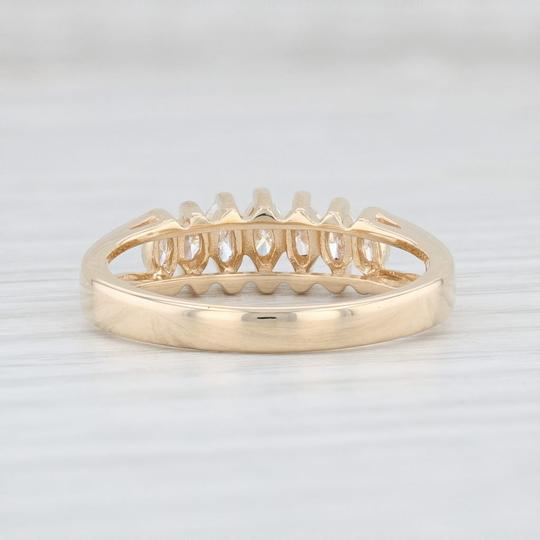 Other 0.38ctw Diamond Tiered Diamond Ring - 14k Yellow Gold Size 7 Stackable Image 3