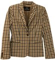 Aquascutum Brown/Blue Checked Blazer Image 0