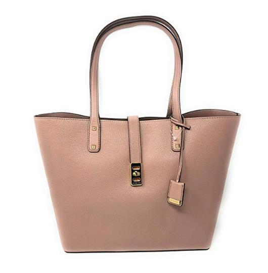 Michael Kors Leather Satchel Dusty Rose 35f7gbdt1l Tote in pink Image 8