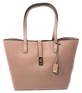 Michael Kors Leather Satchel Dusty Rose 35f7gbdt1l Tote in pink