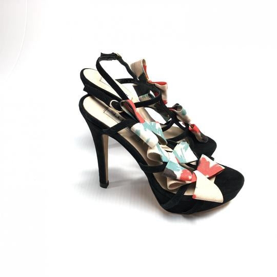L.K. Bennett Bow Strappy Heels Made In Spain Pumps Image 1