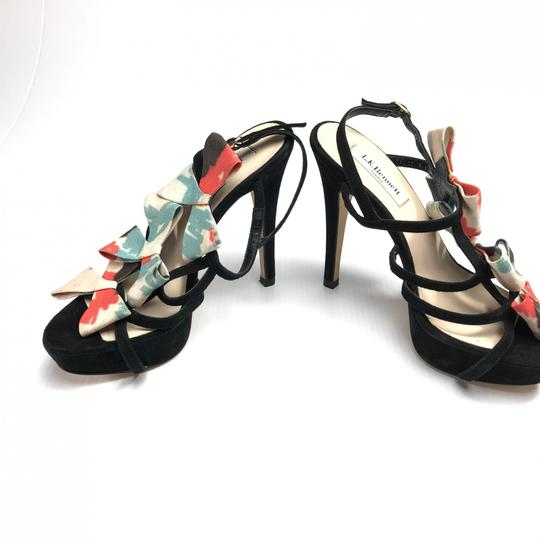 L.K. Bennett Bow Strappy Heels Made In Spain Pumps Image 3