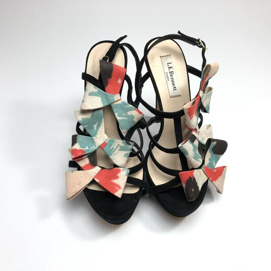 L.K. Bennett Bow Strappy Heels Made In Spain Pumps Image 4