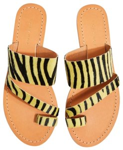 Topshop yellow Sandals