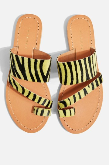 Topshop yellow Sandals Image 1