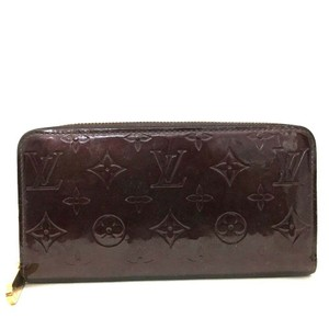 Louis Vuitton Authentic Louis Vuitton Vernis Leather Zippy Zip Around Long Wallet