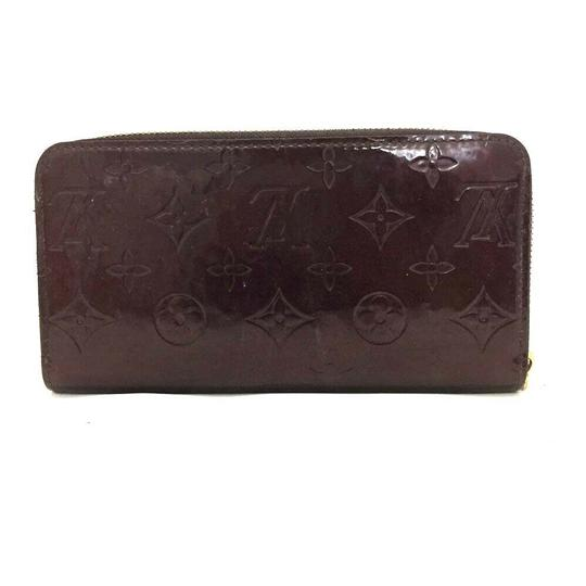 Louis Vuitton Authentic Louis Vuitton Vernis Leather Zippy Zip Around Long Wallet Image 1