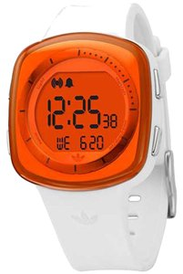adidas Adidas Unisex Sports Watch ADH6045 White Digital
