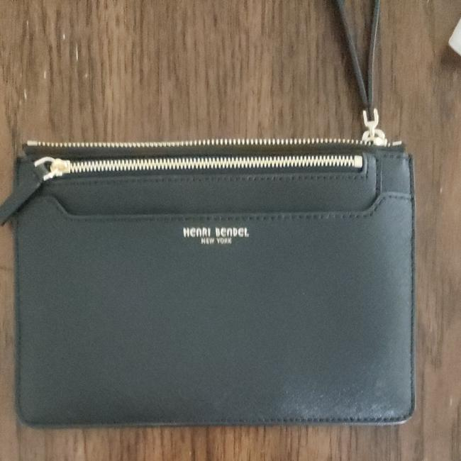 Item - Small Or Wallet Black Pvc Clutch