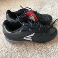 Easton New With Tags Baseball Cleats Men's 6.5 Man Made Materials Easton/Black w/Gray Athletic Image 1