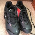 Easton New With Tags Baseball Cleats Men's 6.5 Man Made Materials Easton/Black w/Gray Athletic Image 3
