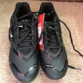 Easton New With Tags Baseball Cleats Men's 6.5 Man Made Materials Easton/Black w/Gray Athletic Image 4