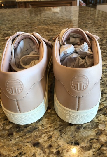 Tory Sport by Tory Burch Ruffle Sneaker Leather Shell Pink Athletic Image 3