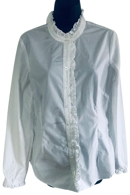 Preload https://img-static.tradesy.com/item/26230486/lilly-pulitzer-white-long-sleeve-blouse-button-down-top-size-6-s-0-1-650-650.jpg