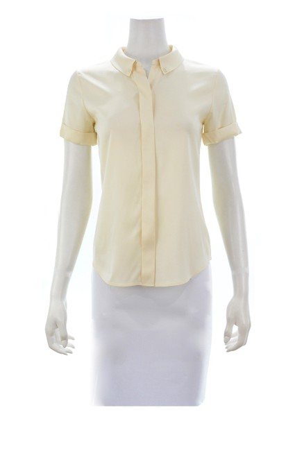 Theory Button Down Shirt beige Image 4
