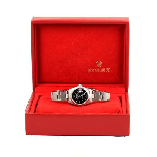 Rolex Rolex Date Black Index Dial Automatic Steel Ladies Watch 79160 Box Image 11
